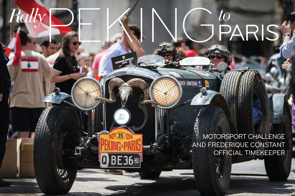Rally Peking to Paris - In Review Magazine