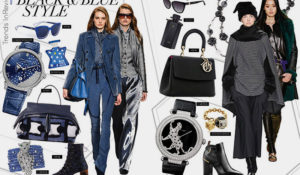 Fashion trends Black and Blue