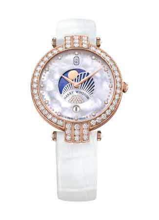 Harry Winston - Premier Moon Phase 36mm