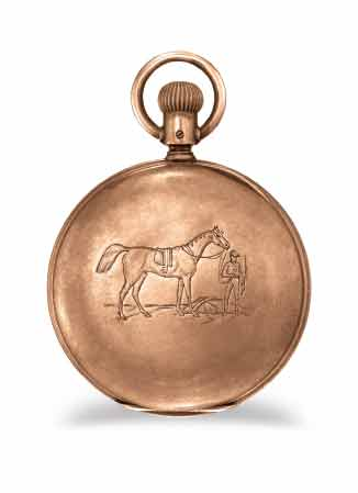 Longines - The Longines Equestrian Pocket Watch Jockey 1878