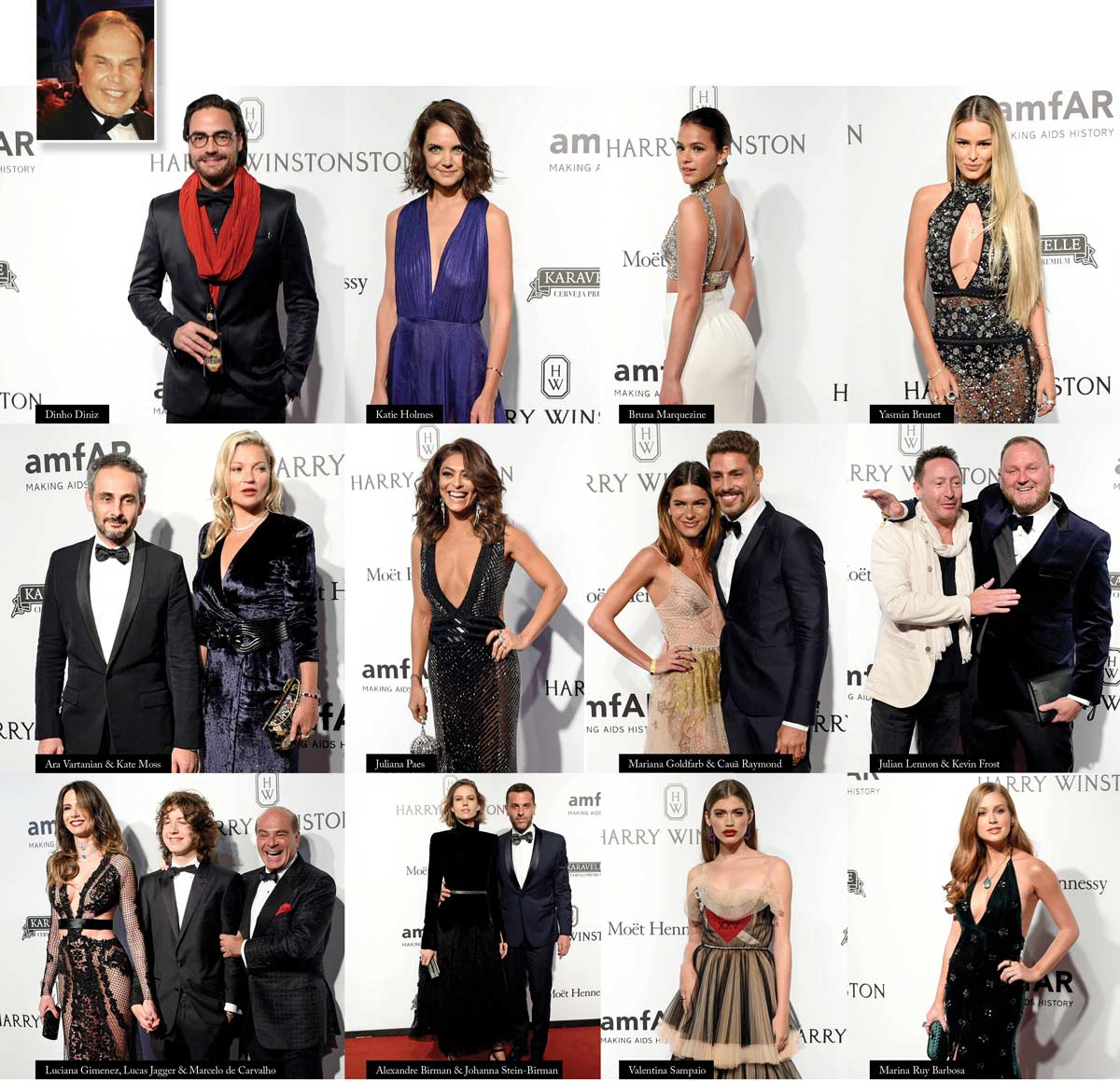 In Review Lifestyle Magazine Charity Gala Sao Paulo