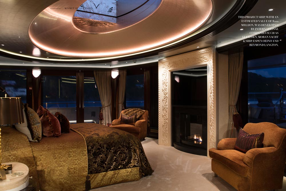 Kismet superyacht inside