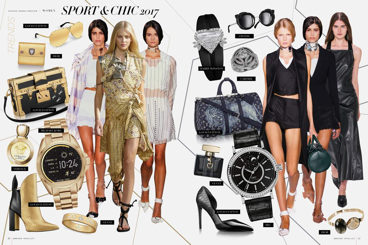 Sport Chic 2017 In Review Magazine