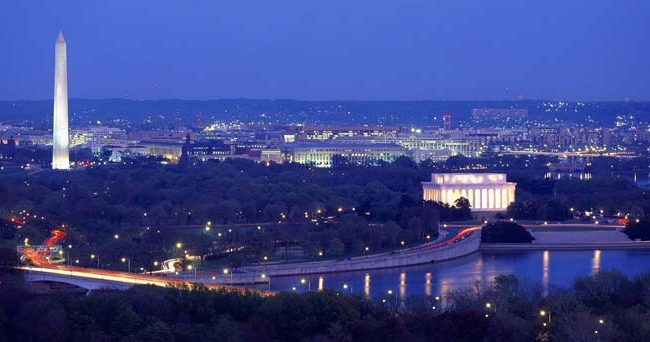 Washington D.C. – The staging city of power and politics