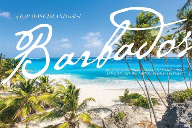 A paradise island called Barbados