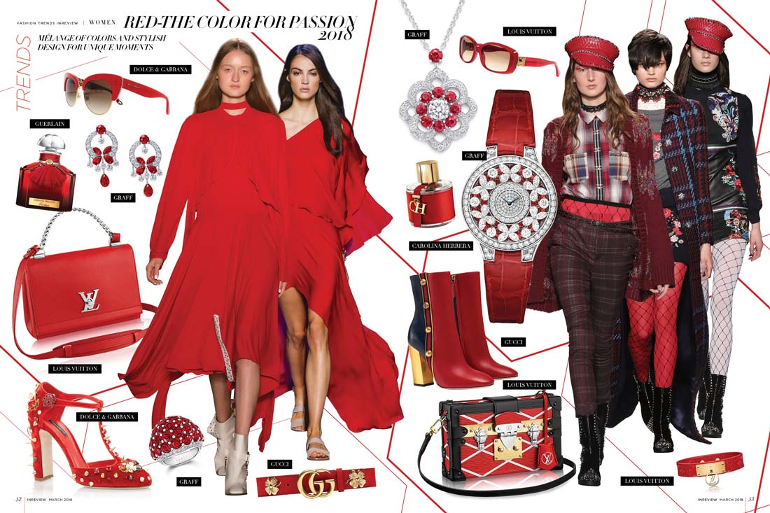 Red-the color for passion