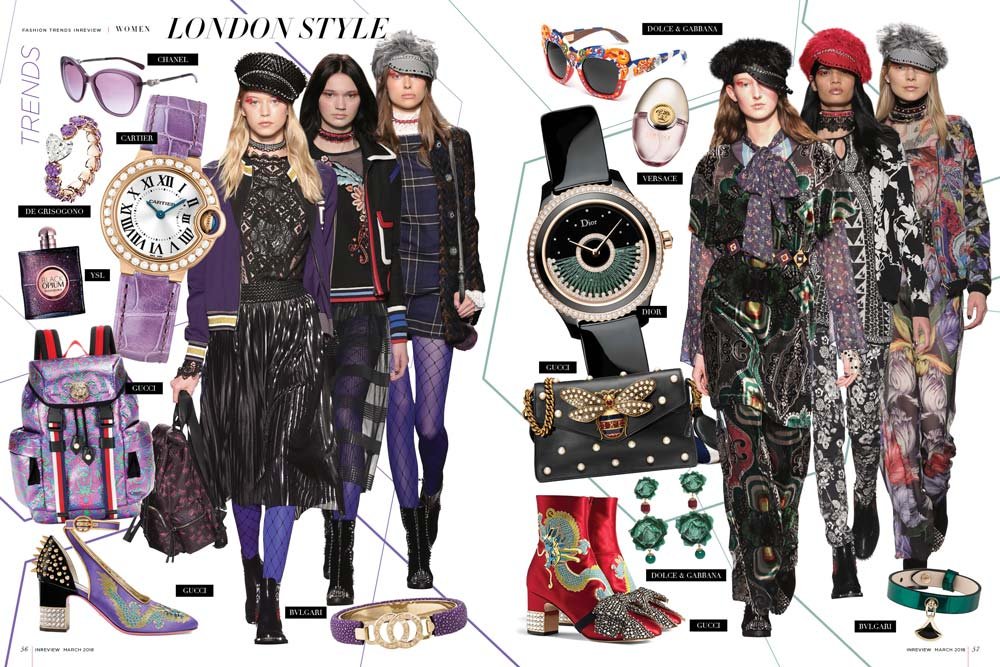 London Style In Review Magazine