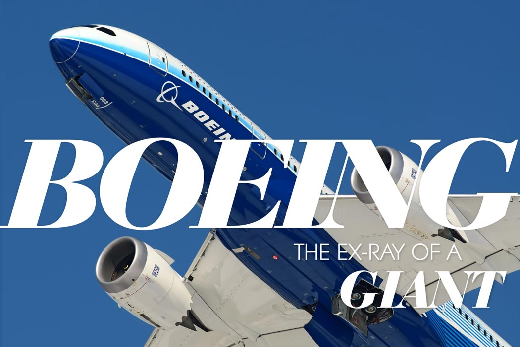 Boeing - The ex-ray of a giant.